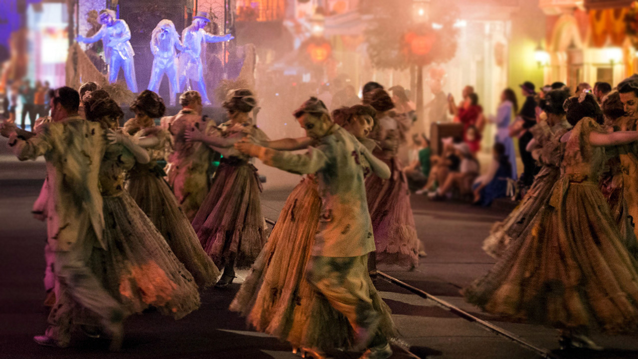 The All-New 'Frightfully Fun Parade' Debuts During Mickey's ...