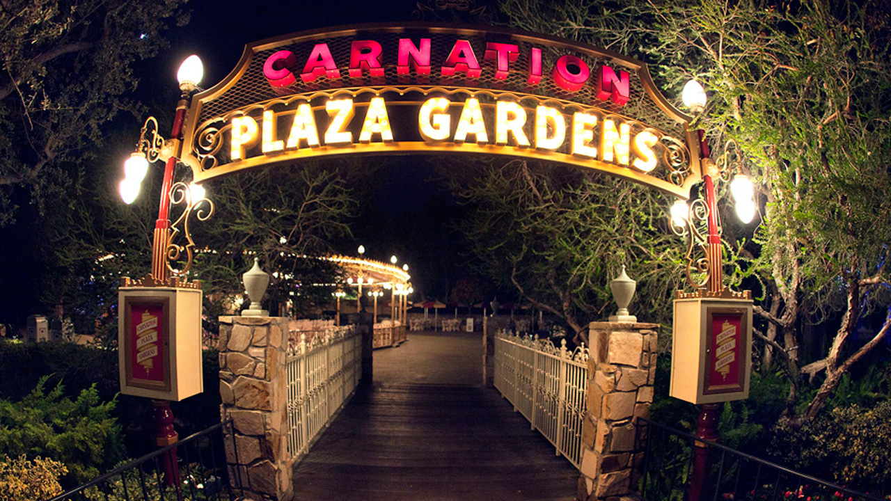 Carnation Plaza Gardens at Disneyland Park