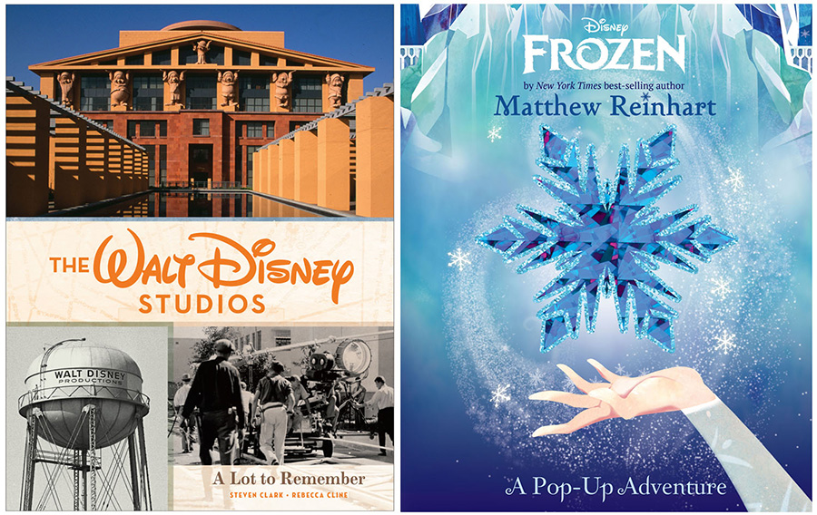 The Walt Disney Studios: A Lot to Remember and Disney Frozen: A Pop-Up Adventure Books