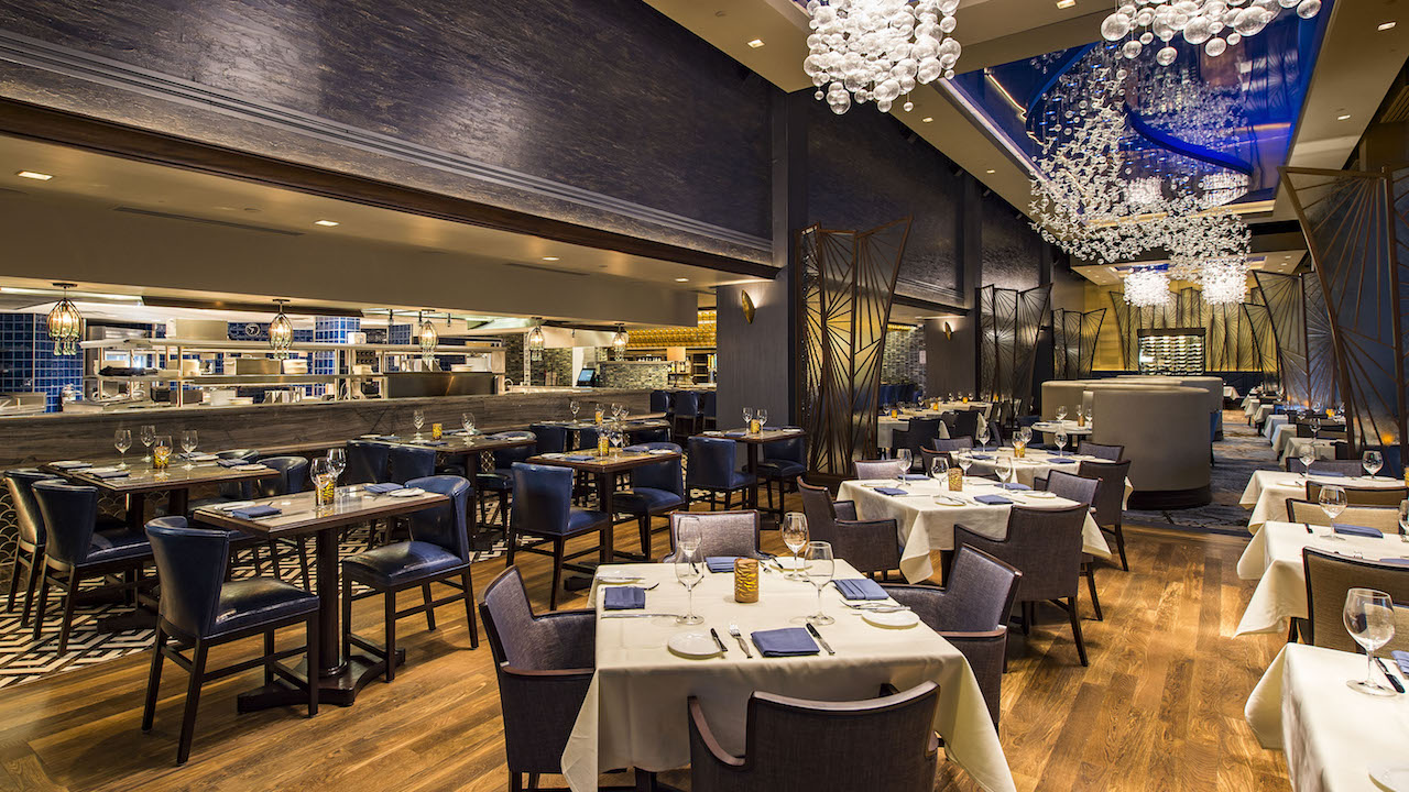 Re imagined flying fish restaurant opens today on disney s for Flying fish cafe disney
