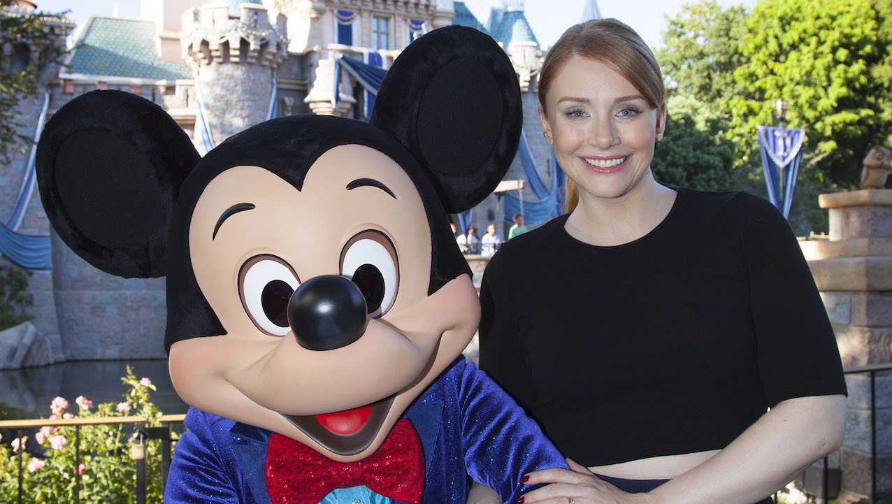 Bryce Dallas Howard Celebrates 'Pete's Dragon' at Disneyland Park