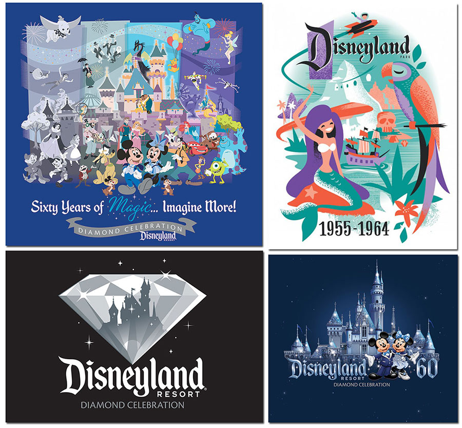 Favorite Merchandise from the Disneyland Resort Diamond Celebration