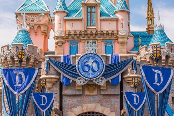 Disneyland Half Marathon Weekend Diamond Castle