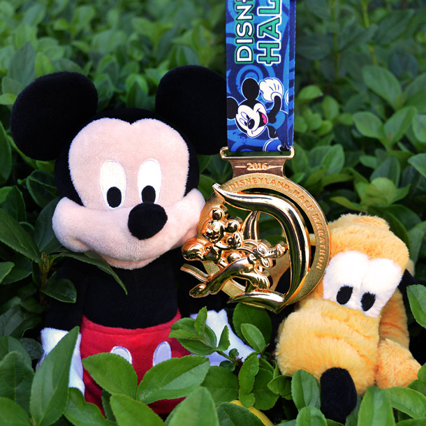 Disneyland Half Marathon Weekend Medal