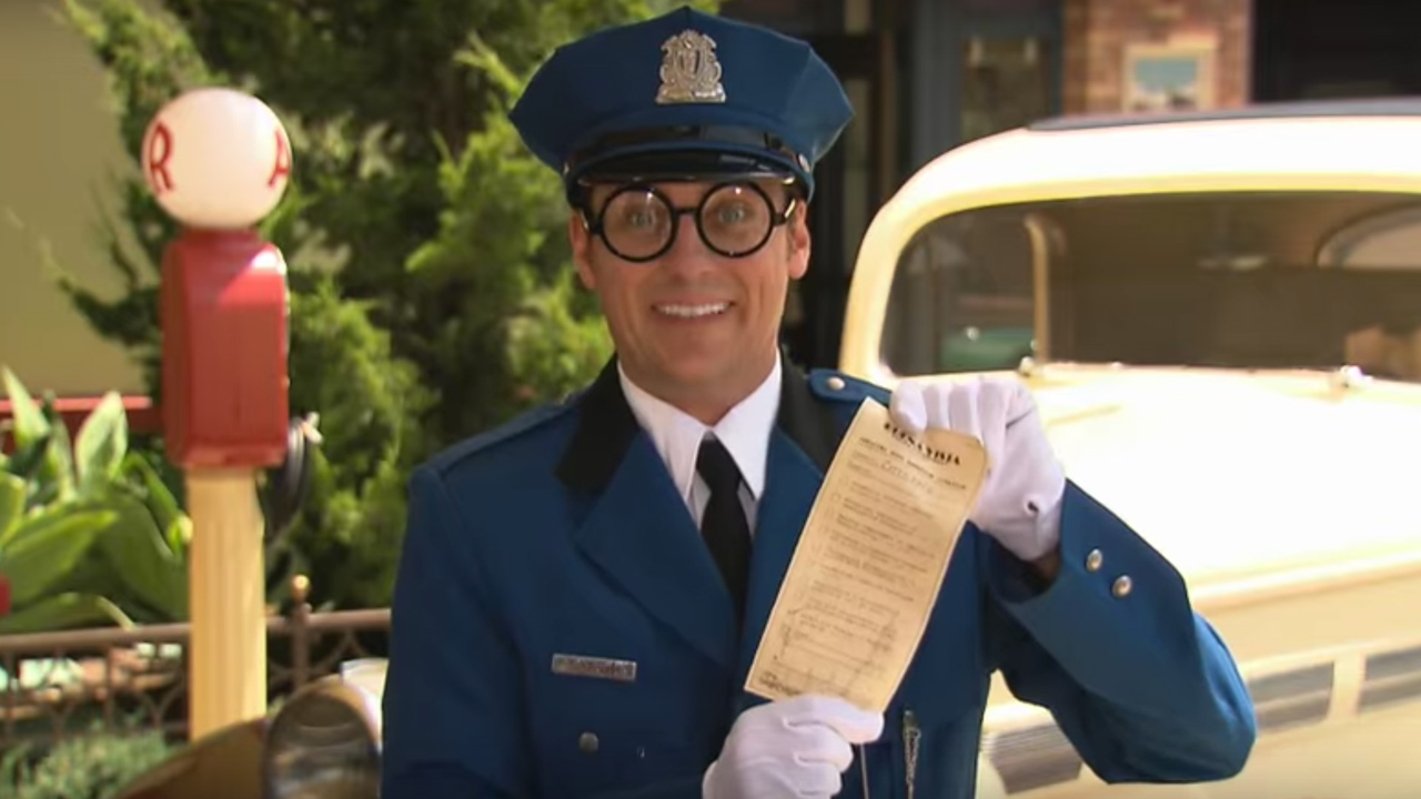 Meet Officer Calvin Blue at Disney California Adventure Park at Disneyland Resort