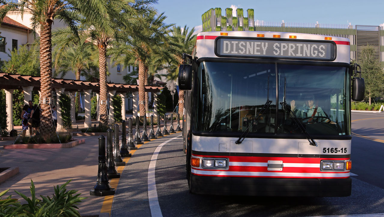 New Bus Service Offers Direct Access To Disney Springs From Theme Parks After 4 P M