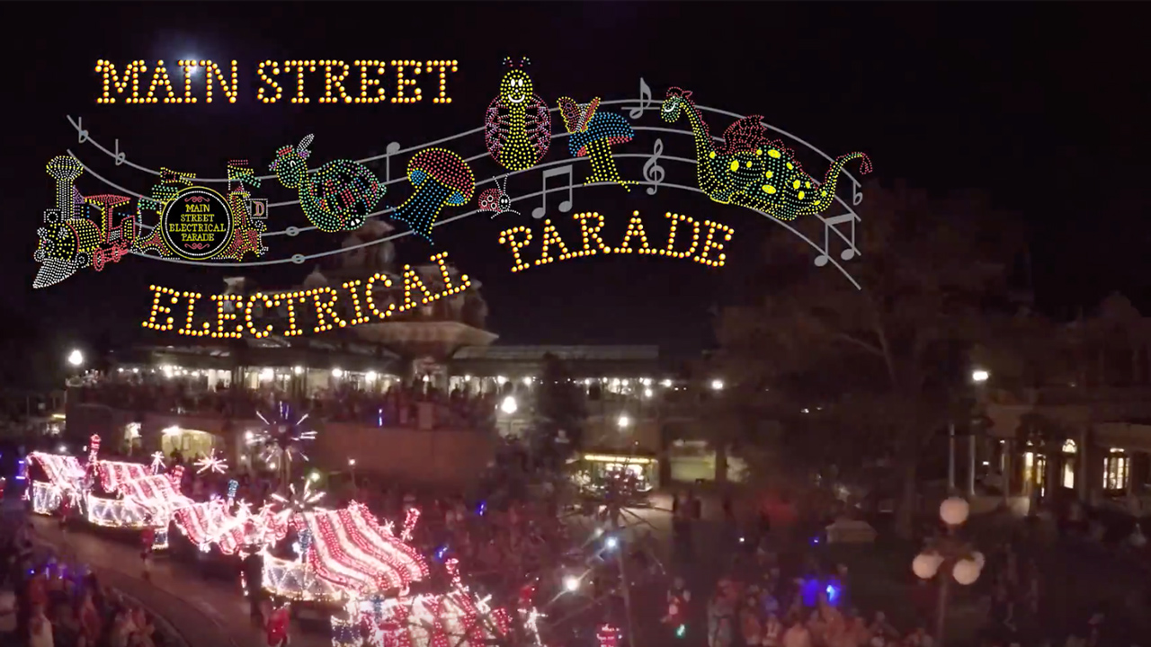 Main Street Electrical Parade POV Video