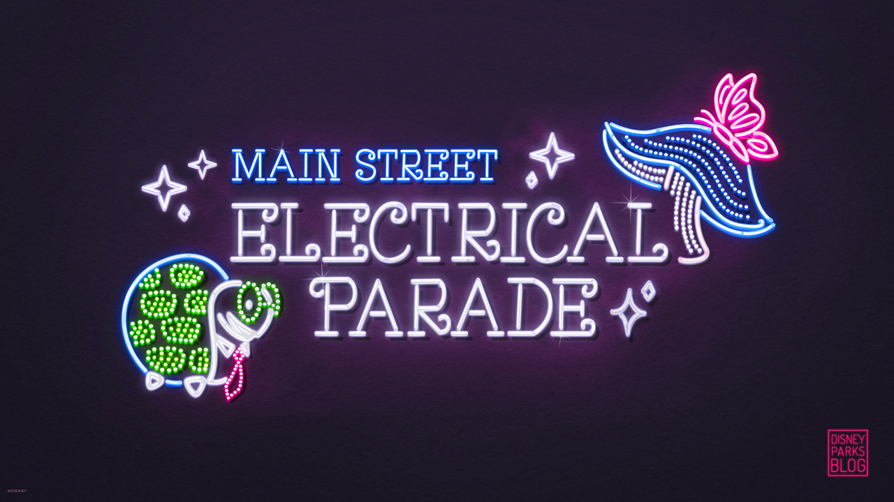 Main Street Electrical Parade Wallpaper