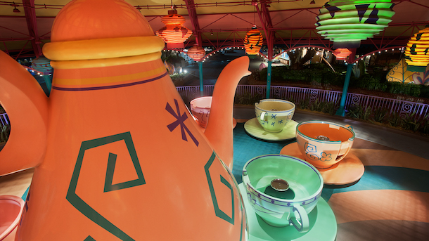 Mad Tea Party at Magic Kingdom Park