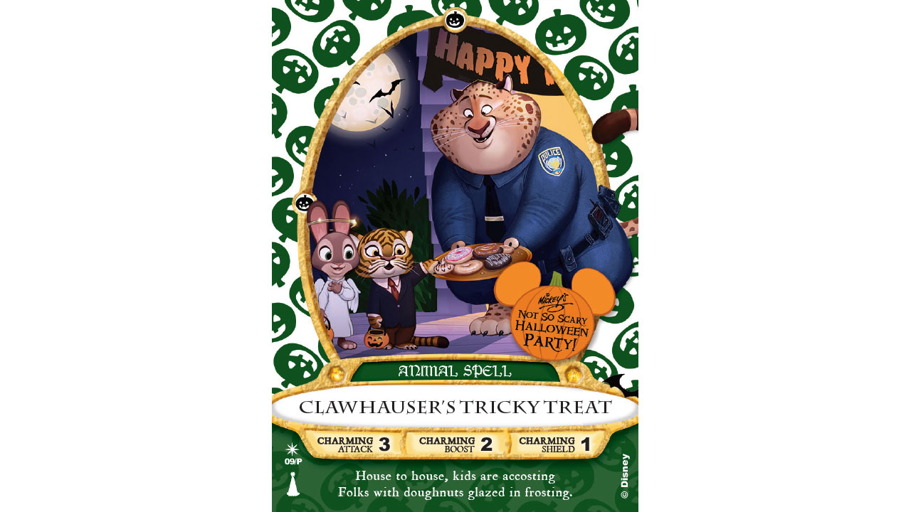 Clawhauser' Sorcerers of the Magic Kingdom Card To Be Released At ...