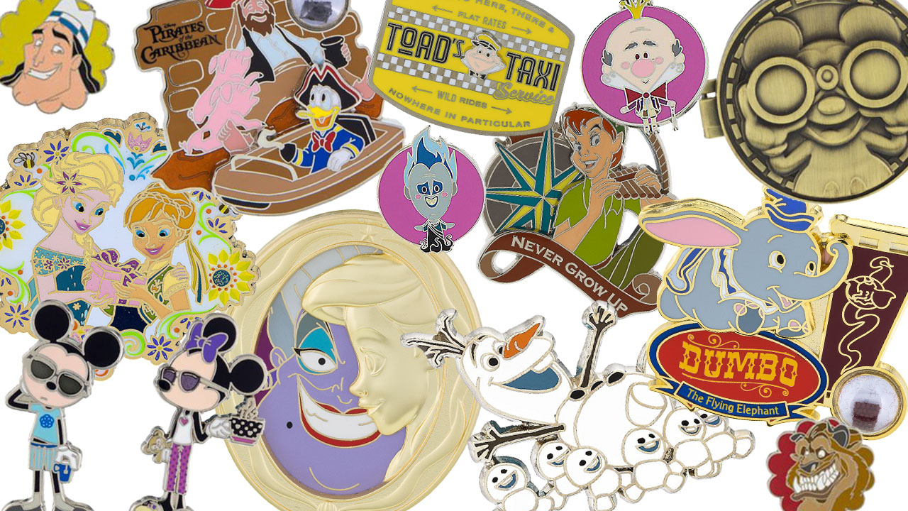 New Pins Coming to Disney Parks in Late Summer 2016
