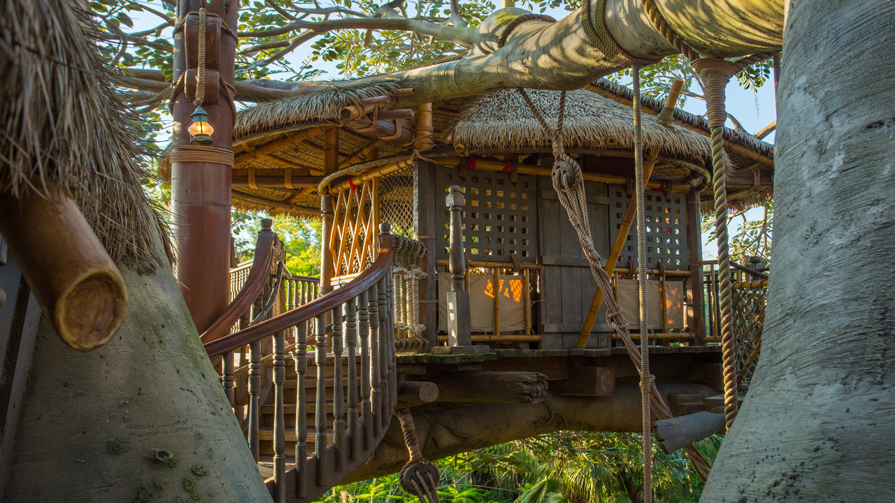 A Fabulous 45th: The Swiss Family Robinson Treehouse