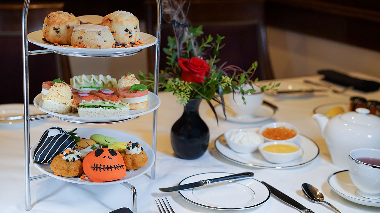 'Trick or Tea' Haunts Steakhouse 55 at Disneyland Hotel This Fall
