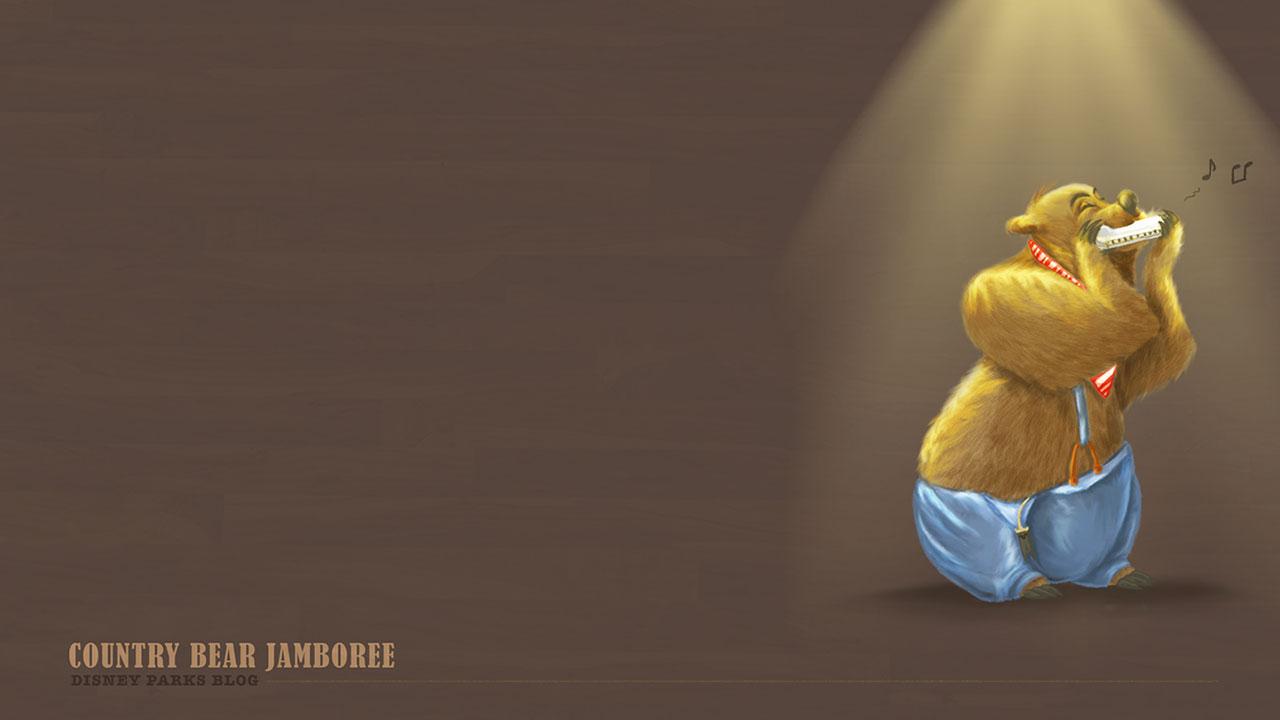 45th Anniversary Wallpaper: The Country Bear Jamboree