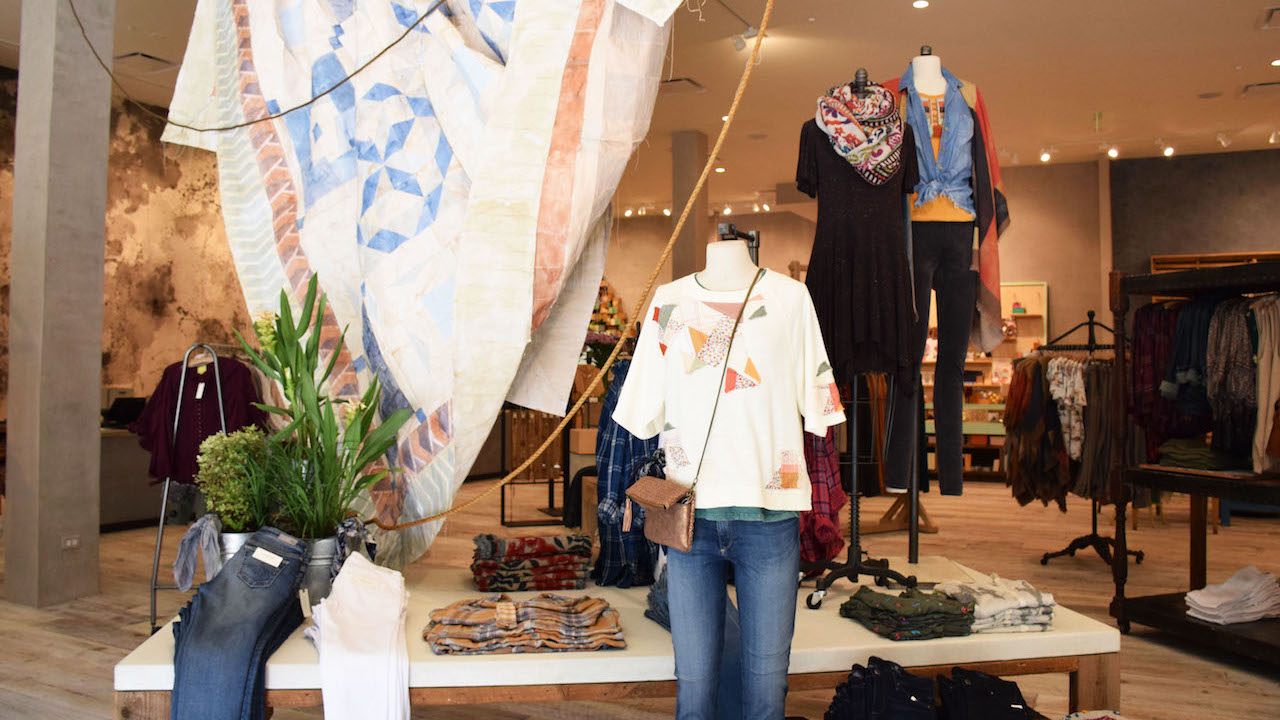Fall Fashion from Anthropologie at Disney Springs