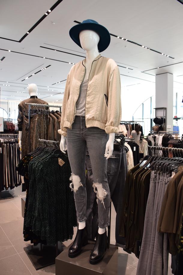 Fall Fashion from ZARA at Disney Springs