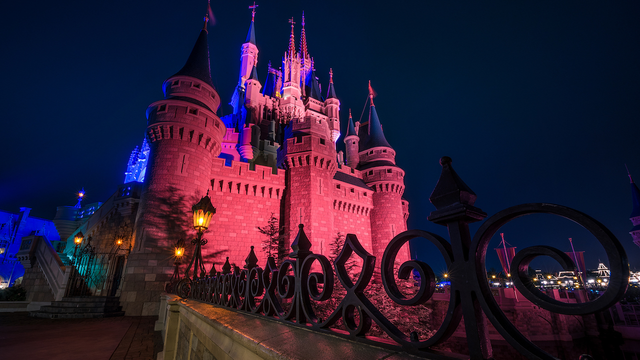 Disney Parks After Dark: A Haunting Cinderella Castle
