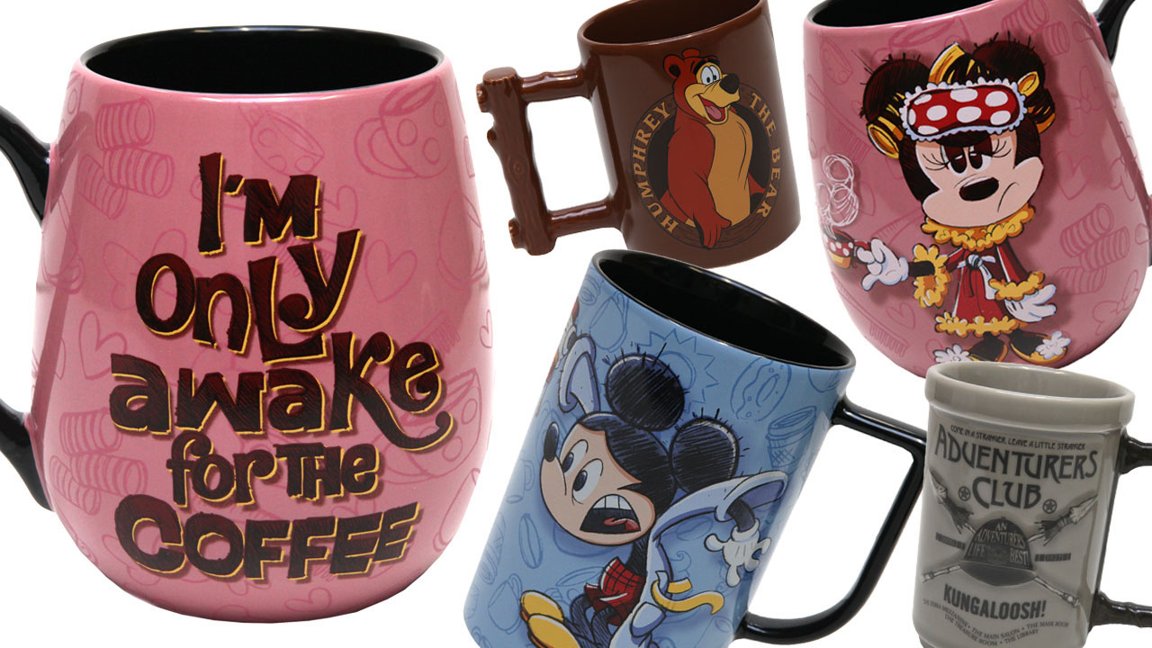 New Mugs Coming Soon to Disney Parks