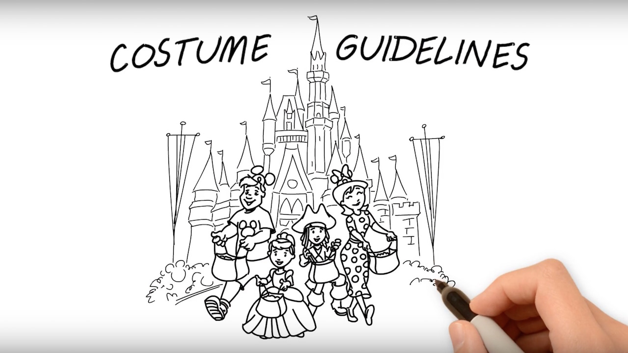 costume guidelines for mickey s not so scary halloween party  fun guide to disney parks costume guidelines