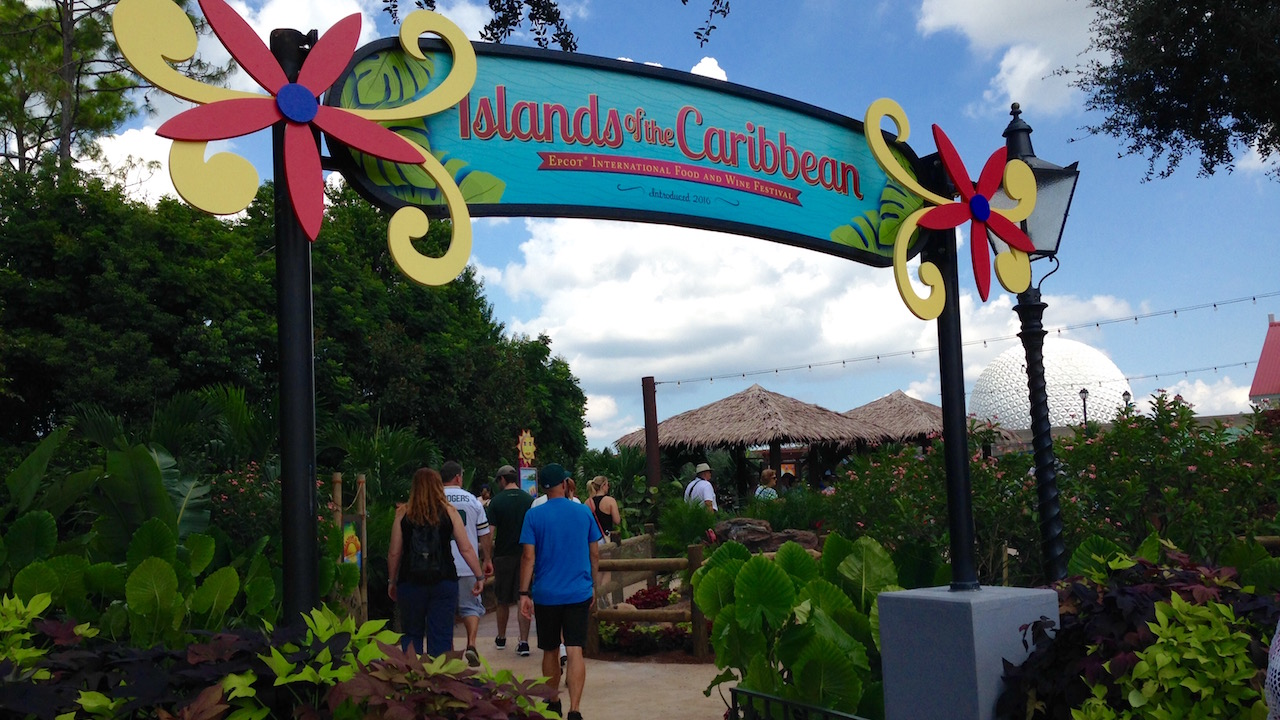 Islands of the Caribbean Marketplace at Epcot International Food & Wine Festival