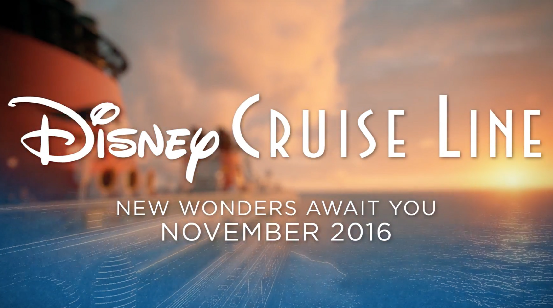 Disney Wonder Gets Ready to Premiere New Experiences This Fall