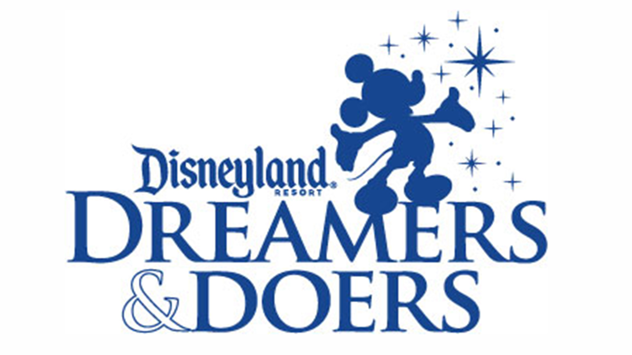 applications now open for new class of disneyland resort dreamers  disneyland resort dreamers doers logo