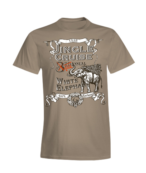 Jingle Cruise 4th Annual White Elephant Gift Exchange T-Shirt