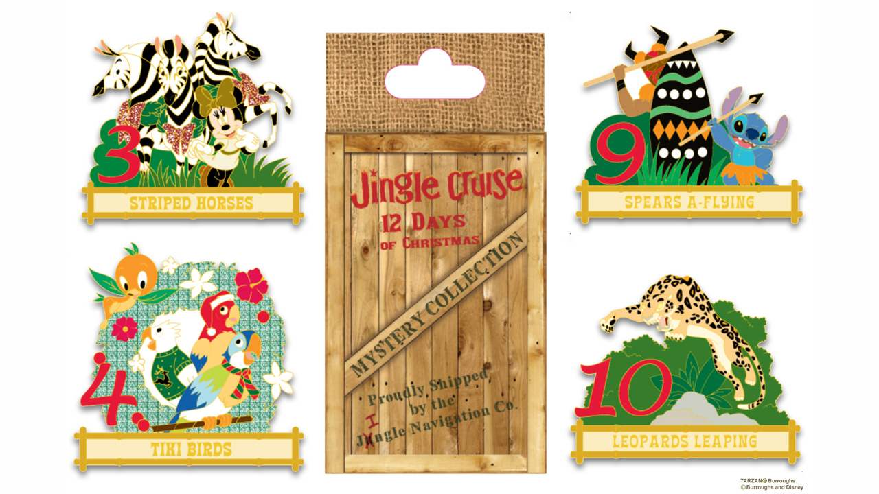 Jingle Cruise 12 Days of Christmas Mystery Collection