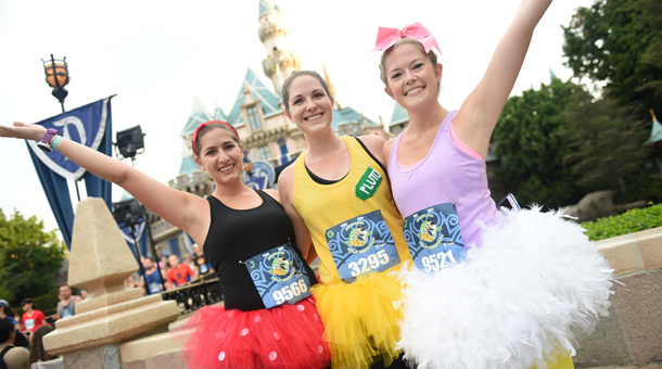 Disney Duos Showcased at Disneyland Half Marathon Weekend