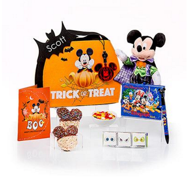 Mickey (or Minnie's) Not-So-Scary Trick-or-Treat Bag