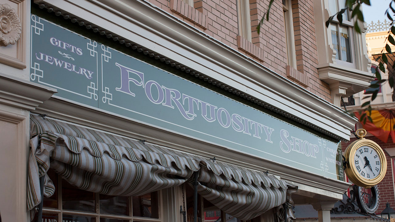 The Shops of Main Street, U.S.A.: Fortuosity Shop