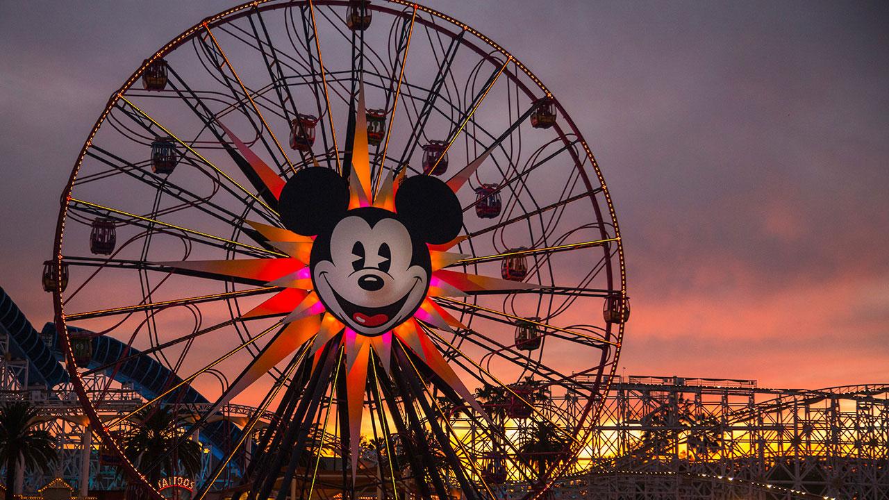 Disney Parks After Dark: Sun Sets on Paradise Pier at Disney California Adventure Park