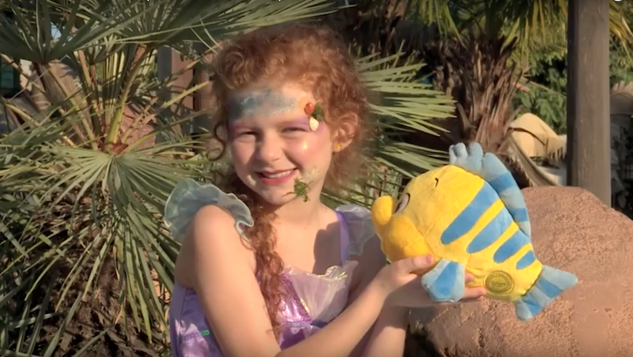 Halloween DIY: Disney Mermaid-Inspired Makeup Tutorial