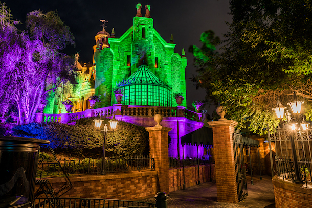 Haunted Mansion at Magic Kingdom Park