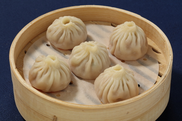 Dumplings from Nine Dragons Restaurant at China Pavilion at Epcot
