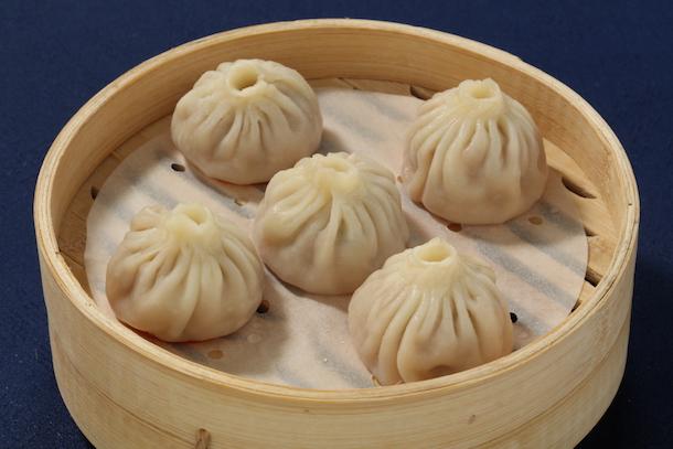 Dumplings from Nine Dragons Restaurant at China Pavilion at Epcot