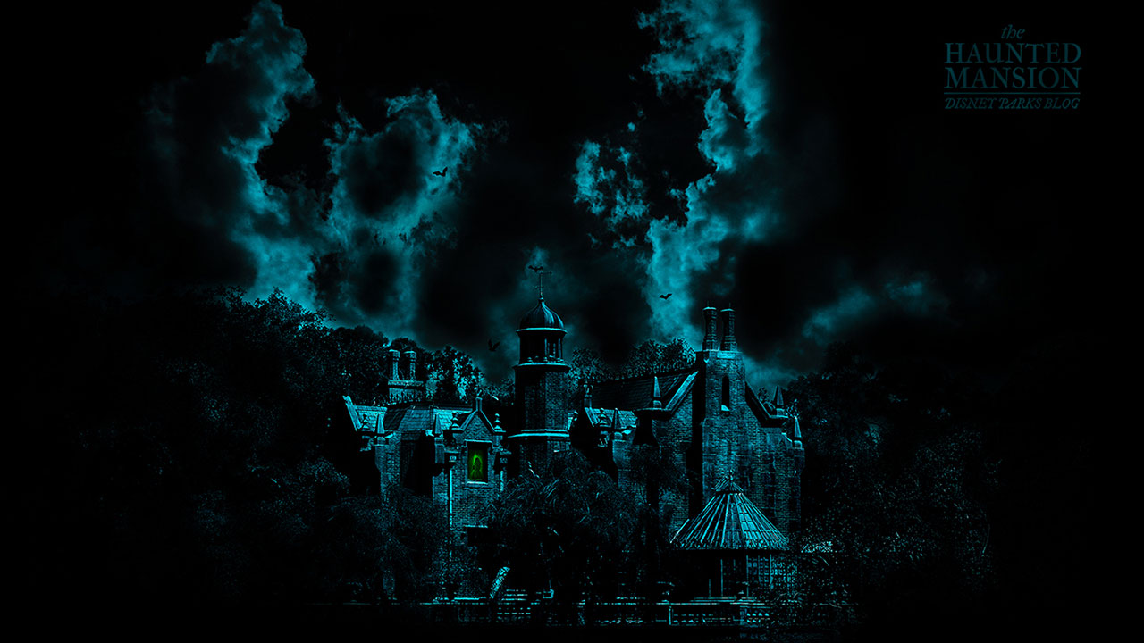 45th Anniversary Wallpaper: The Haunted Mansion