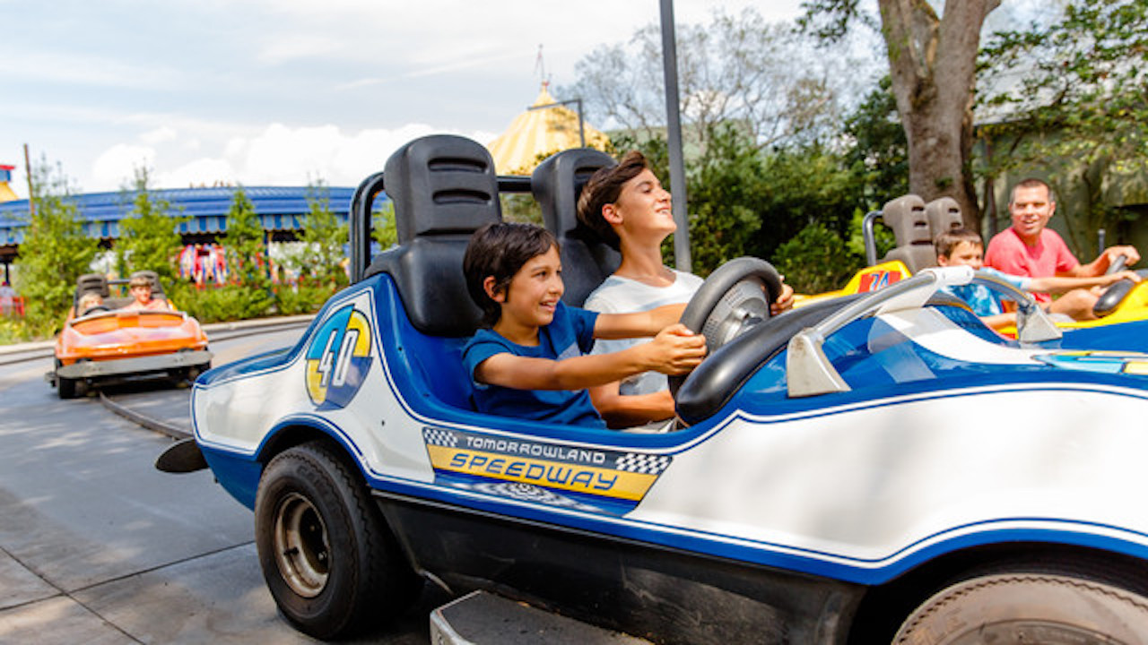 Tomorrowland Speedway at Magic Kingdom Park