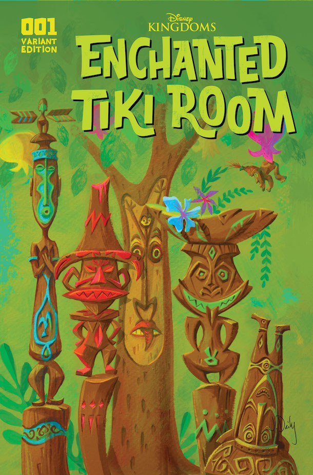 'Enchanted Tiki Room' Comic Series from Disney Kingdoms
