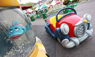 A Neighborhood with Character: The Vehicles of Mickey's Toontown at Disneyland Park