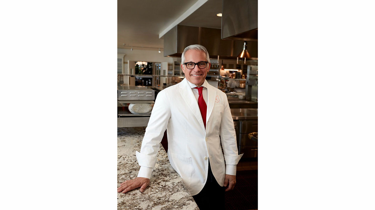 Celebrity Chef Geoffrey Zakarian