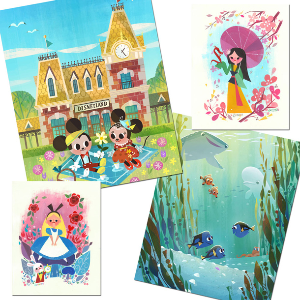 Merchandise Events Coming to WonderGround Gallery at Disneyland Resort in November 2016