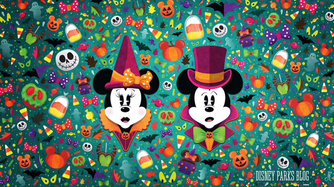 Celebrate a #WonderFALLDisney With Our Halloween Wallpaper ...
