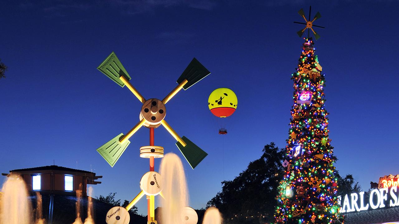 NEW! Disney Springs' Christmas Tree Trail Will Debut This Holiday Season