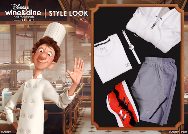 Alfredo Linguini inspired Wine & Dine 10K look