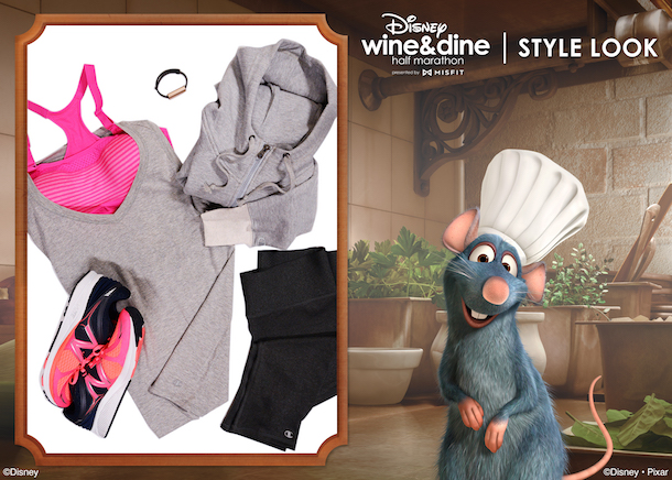 Chef Remy style inspiration for runDisney Wine & Dine 10K