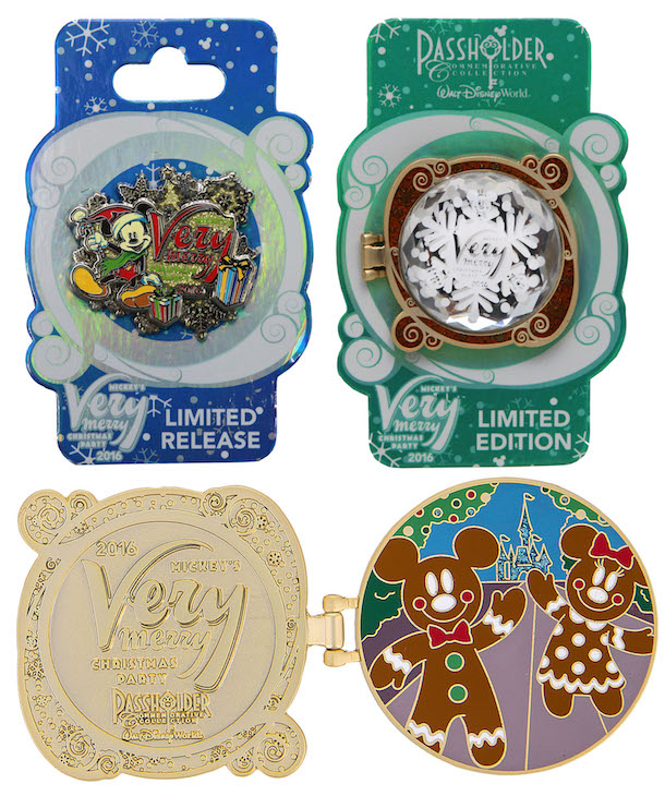 Commemorative Merchandise for Mickey's Very Merry Christmas Party 2016 at Magic Kingdom Park