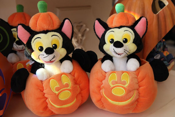 Image result for Figaro in Mickey Mouse Jack O'Lantern Plush