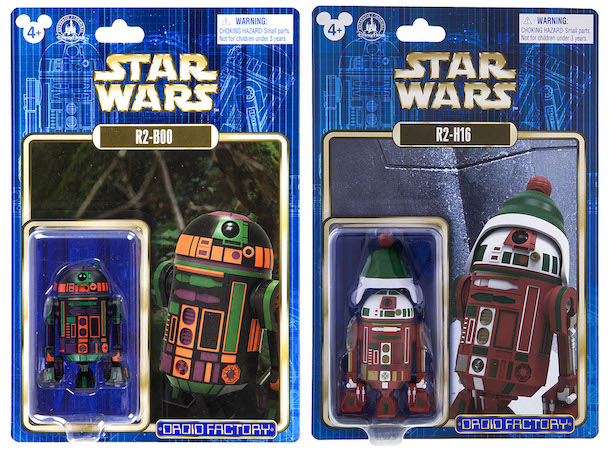 Two New Carded Astromech Droid Action Figures Coming to Disney Parks
