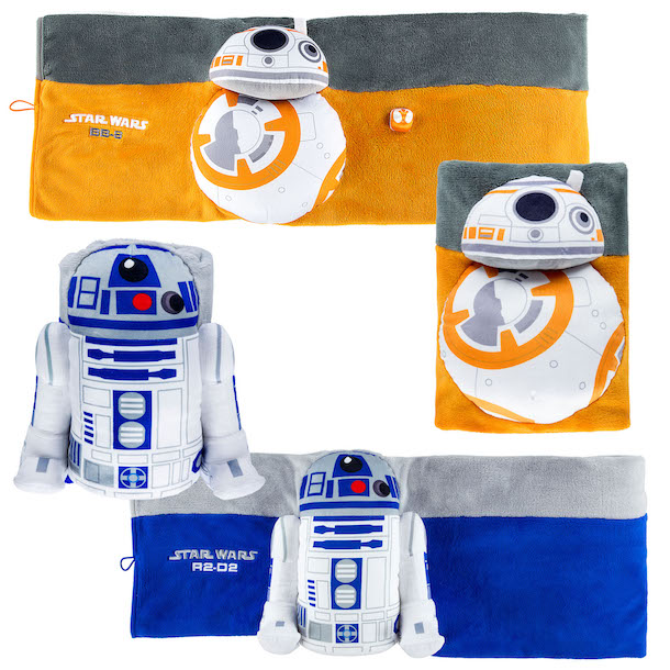 New Blankets Inspired by BB-8 and R2-D2